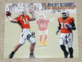TYRONE MOSS & KYLE WRIGHT Signed MIAMI HURRICANES 8x10 photo - Future is NOW