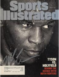TYSON, MIKE AUTO (6/30/97) (TYSON VS HOLYFIELD) SI MAGAZINE - Mounted Memories