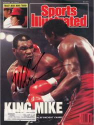 TYSON, MIKE AUTO (8/10/87) (KING MIKE) SI MAGAZINE - Mounted Memories