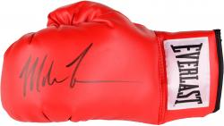 Mike Tyson Autographed Boxing Glove - Red Everlast