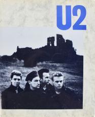 U2 (5) Bono x2, The Edge,  Clayton &  Mullen Signed Tour Program BAS #A89677
