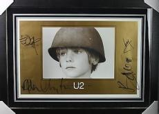 U2 Band Group Signed Autographed 28x20 Limited Edition Poster PSA/DNA Authentic