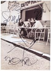 U2 Band Signed Autographed Program w/ Bono Sketch! JSA