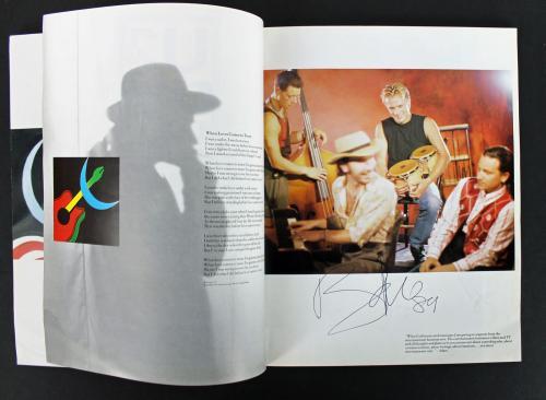 U2 (Bono, Edge, Larry Mullen & Adam Clayton) Signed Tour Program PSA #AA08340