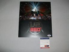 U2 BONO signed autographed 360 TOUR OFFICIAL PROGRAM PSA/DNA COA