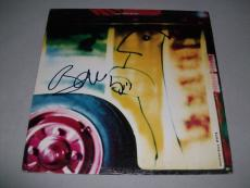 "U2 BONO signed autographed ""MYSTERIOUS WAYS"" RARE 12 INCH LP RECORD PSA/DNA COA"