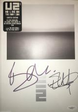 U2 Bono the Edge signed autographed No Line Limited Edition book w CD JSA COA