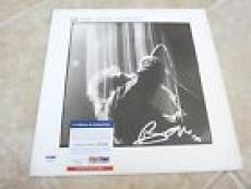 U2 Bono Wide Awake In America Signed Autographed LP Album PSA Certified