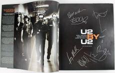 U2 Group Signed U2 By U2 Hardcover 1st Edition Book Bono Self Sketch Jsa #y31710