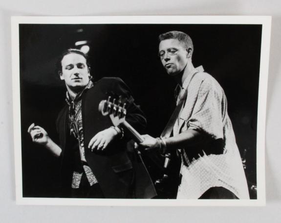 U2 Photo Bono & Adam Clayton