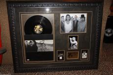U2 signed autographed JOSHUA TREE lp album record BONO 1987 PASS photo PSA DNA