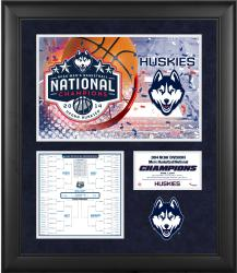"UConn Huskies 2014 NCAA Men's Basketball National Champions Framed 3-Photograph 20"" x 24"" Collage"