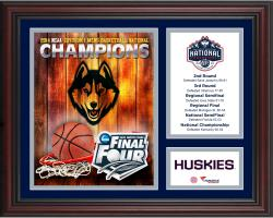 "UConn Huskies 2014 NCAA Men's Basketball National Champions Framed 13"" x 16"" Collage"