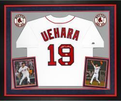 UEHARA, KOJI FRMD AUTO (DELUXE) (REDSOX/WHT/REP) (MLB) JSY - Mounted Memories