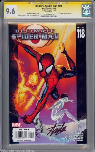Ultimate Spider-man #118 Cgc 9.6 Ss Stan Lee Signed Sig Series Cgc  #1191277020