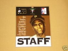 ULTRA RARE Roberto Clemente event Staff Badge