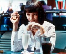 Uma Thurman 8x10 Photo Glossy Image #1 Pulp Fiction