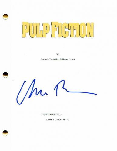 Uma Thurman Signed Autograph Pulp Fiction Full Movie Script - Quentin Tarantino
