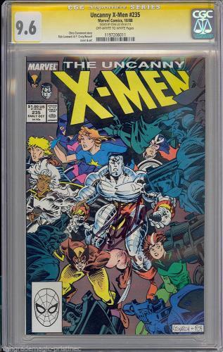 Uncanny X-men #235 Cgc 9.6 Oww Ss Stan Lee Signed Sig Series  Cgc # 1197206011