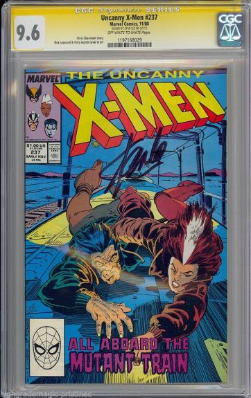 Uncanny X-men #237 Cgc 9.6 Oww Ss Stan Lee Sig Series Cgc #1197168029