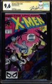 Uncanny X-men #248 Cgc 9.6 White Stan Lee 1st Jim Lee Art In Title  #1508498015