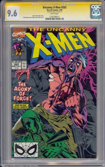 Uncanny X-men #263 Cgc 9.6 Ss Stan Lee Signed Sig Series Cgc #1197182011
