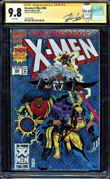 Uncanny X-men #300 Cgc 9.8 White Ss Stan Lee Signed Cgc #1197102001