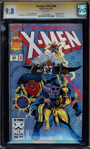 Uncanny X-men #300 White Pages Cgc 9.8 Ss Stan Lee Signed Cgc #1197102004