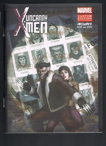 Uncanny X-Men Custom Edition Mini # 1 Includes # 141 & 142 (Oct 2014 Marvel)