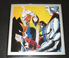 Uncanny X Men Original Framed 1988 Marvel Poster 12x12 Wolverine Nightcrawler