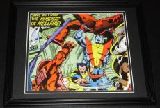 Uncanny X-Men vs Knights of Hellfire Framed 11x14 Photo Poster Display
