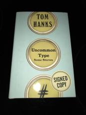 UNCOMMON TYPE SOME STORIES Tom Hanks Signed Autograph First Edition Book JSA