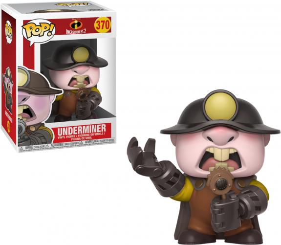 Underminer The Incredibles #370 Funko Pop!