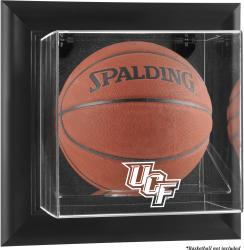 University of Central Florida Knights Black Framed Wall-Mountable Basketball Display Case