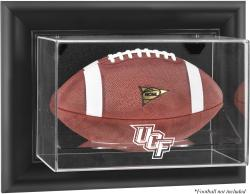 University of Central Florida Knights Black Framed Wall-Mountable Football Display Case