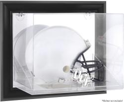 University of Central Florida Knights Black Framed Wall-Mountable Helmet Display Case