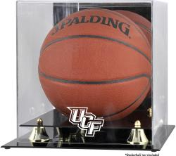 University of Central Florida Knights Golden Classic Logo Basketball Display Case