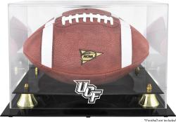 University of Central Florida Knights Golden Classic Logo Football Display Case