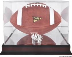 University of Central Florida Knights Mahogany Base Logo Football Case with Mirror Back