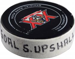 UPSHALL, SCOTTIE (PANTHERS) GOAL PUCK (2/6/14) VS. DET - Mounted Memories
