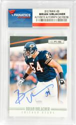 Brian Urlacher Chicago Bears Autographed 2012 Leaf R&S #28 Card - Mounted Memories