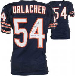 Chicago Bears Brian Urlacher Reebok Game-Used Autographed Jersey