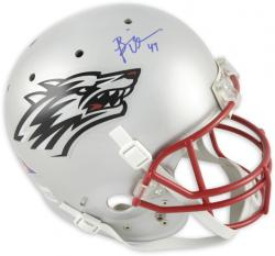 Brian Urlacher New Mexico Lobos Autographed Riddell Replica Helmet