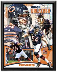 Chicago Bears Brian Urlacher 10.5'' x 13'' Plaque - Mounted Memories
