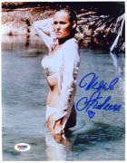 Ursula Andress Hand Signed Psa Dna Coa 8x10 Photo Autograph Authentic
