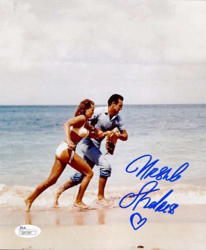 Ursula Andress James Bond Jsa Coa Hand Signed 8x10 Photo Authenticated Autograph
