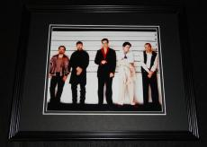 Usual Suspects Lineup Framed 8x10 Photo Poster Kevin Spacey Benicio Del Toro