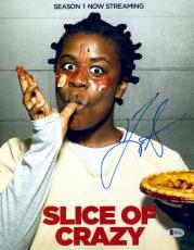 "Uzo Aduba Autographed 11"" x 14"" Orange Is The New Black - Slice of Crazy Photograph - Beckett COA"