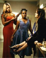 Uzo Aduba Crazy Eyes Signed 8x10 Photo Orange Is The New Black Authentic Coa C