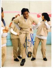Uzo Aduba Signed Autographed 8x10 Photo Orange is the New Black COA VD